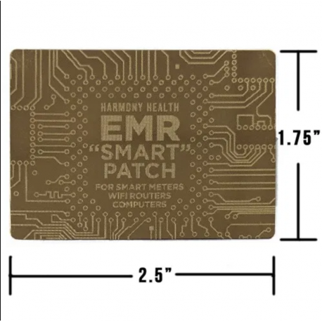 """EMR """"SMART"""" PATCH FOR CELLPHONE AND SMART DEVICE PROTECTION"""