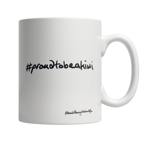 Proud to be a Kiwi White 11oz Mug (one side print)