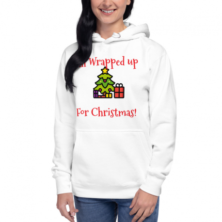 All Wrapped Up Christmas Tree Hoodie