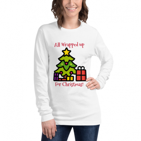 All Wrapped up for Christmas Long Sleeve Tee!