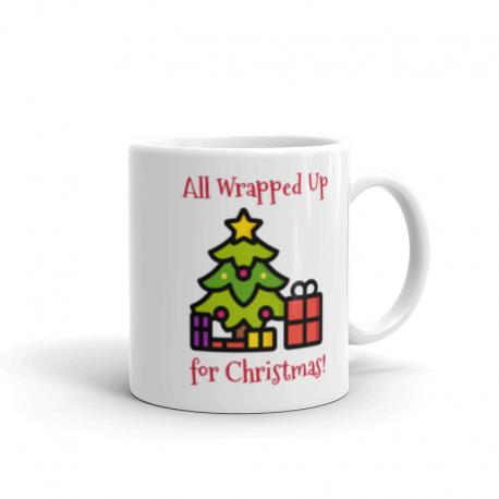 All Wrapped up Christmas Tree Mug