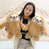Big Stuffed Sloth Soft Large Stuffed Animal, 2 Sizes 16 inch and 20 inch