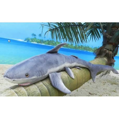 Giant Stuffed Shark Soft 100 cm 4 Feet Long Huge Plush Animal