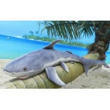 Giant Stuffed Shark Soft 100 cm 4 Feet Long Huge Plush Animal