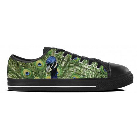 Peacock Feather - Kids Lowtop