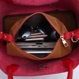 Women Totes Bag Pu Patent Leather Women Bags Mobile Messenger Shoulder Bags Luxury Brand Ladies Handbag Cross Buns  -YL5